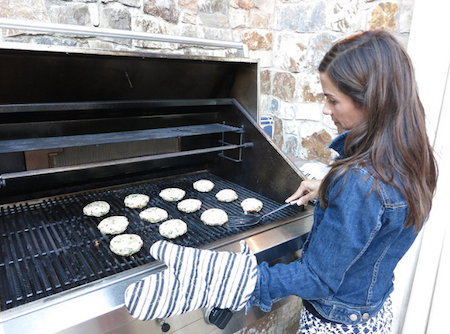 Recruit a friend to grill.