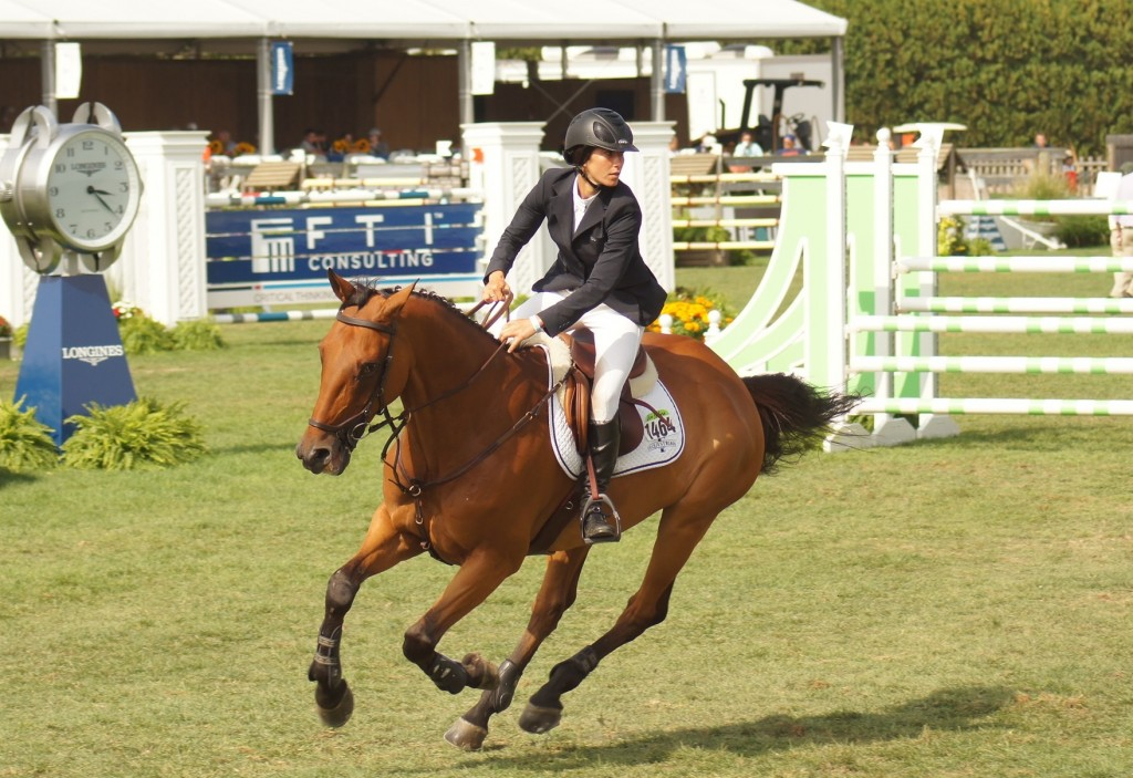 Tisbo and Roundthorn Madios competed just last weekend at The Hampton Classic Horse Show. Photo ©Erin Gilmore