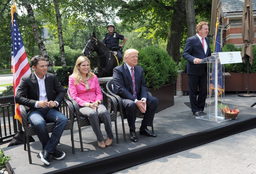 Kent Farrington, Ashley Holzer, Donald Trump, Mark Bellissimo