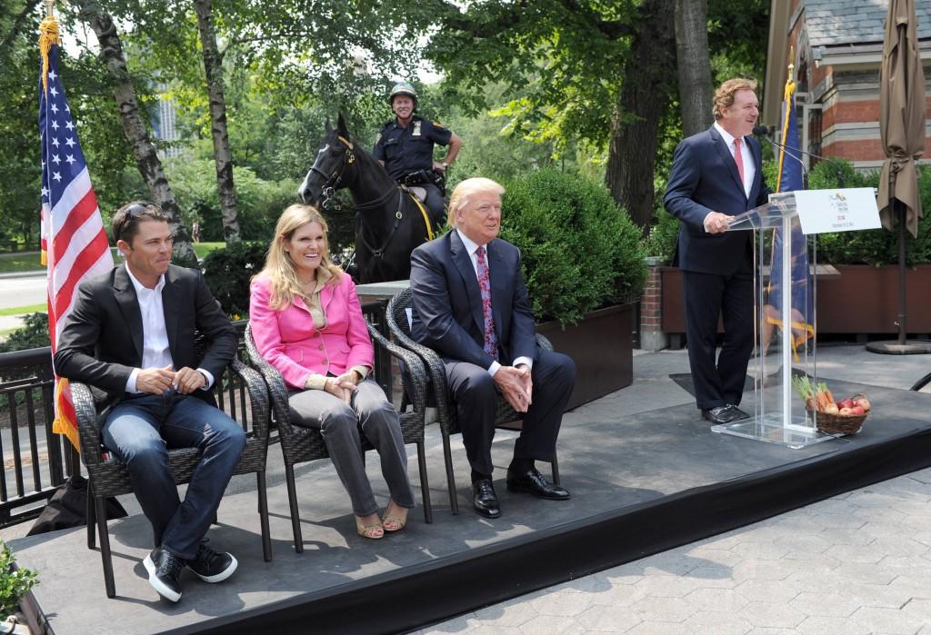 Kent Farrington, Ashley Holzer, Donald Trump, Mark Bellissimo