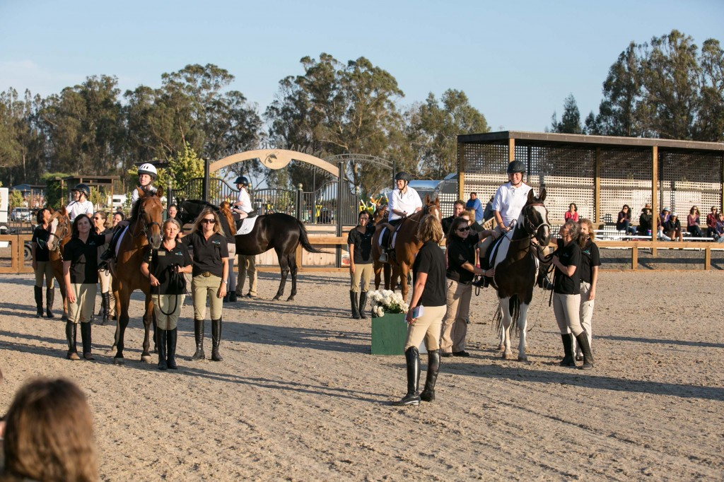 GUCCI PARTNERS WITH SONOMA HORSE PARK: Giant Steps Charity Classic Six Bar and Gala