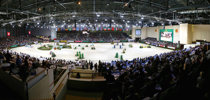 JUMPING CHI GENEVE 13/12/2014 PALEXPO AMBIANCE TERRAIN VUE PANORAMIC