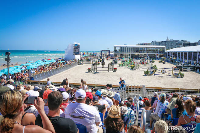 On Grand Prix Day The Free Spectator Seating Was Packed Despite High Temperatures And People Lined Arena Wall For A Close Up Look At Action