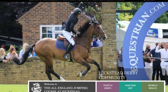 watch hickstead live
