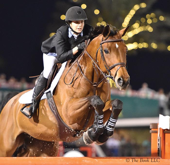 Wesley Newlands is contesting the FEI ranks with her newest grand prix partner, Evita van de Veldbalie. | Photo © The Book LLC