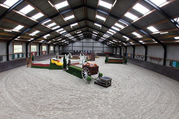 Stal Wilten's pristine indoor arena
