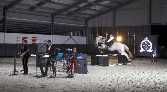 whistlejacket - equestrian music video