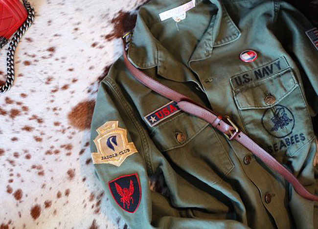 Saddle Club war horse jacket